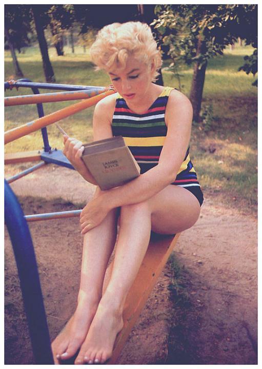 szybkie czytanie jak szybko czytać Marylin Monroe