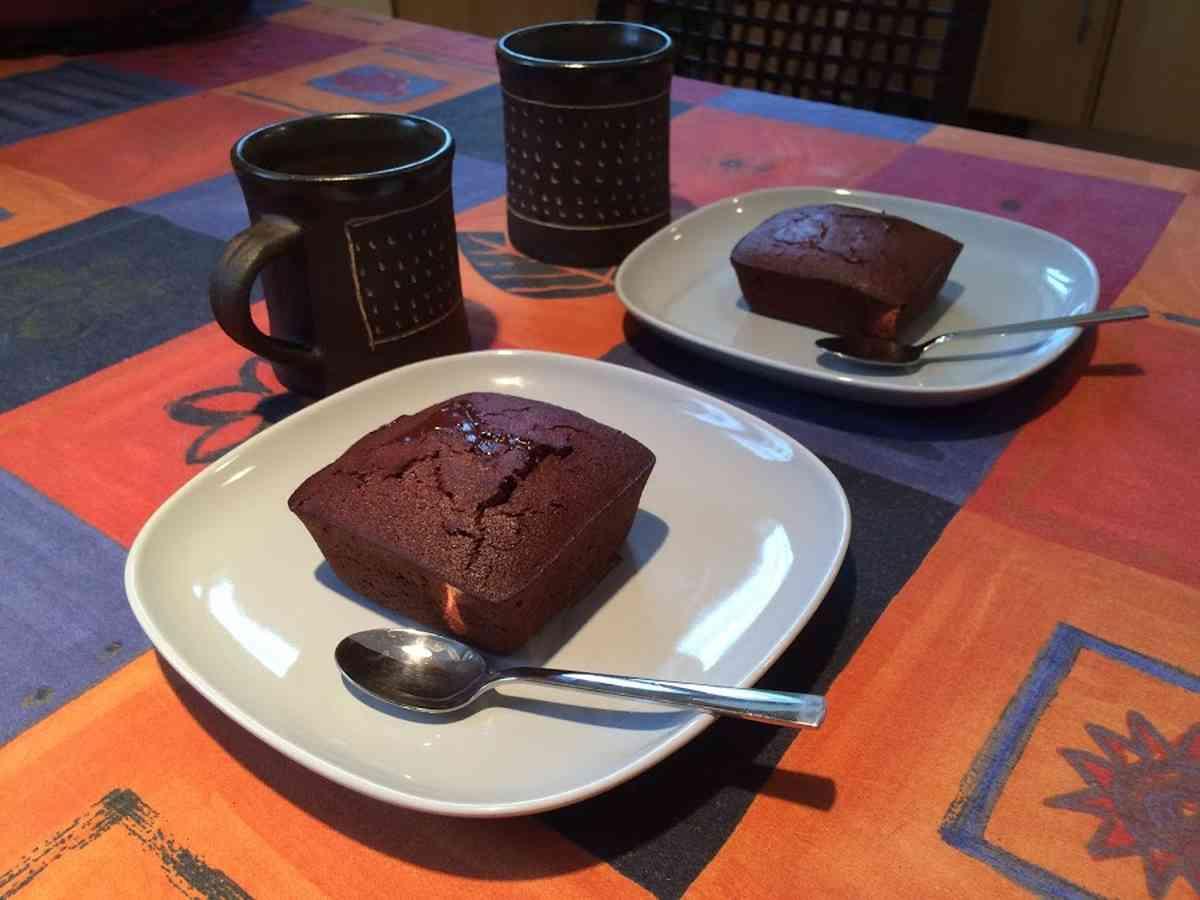 Szybki deser czekoladowymoelleux